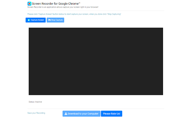 Screen Recorder for Google Chrome™