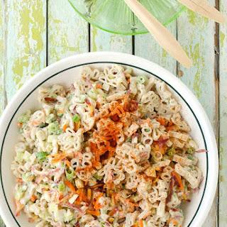 Picnic Macaroni Salad {gluten-free}.