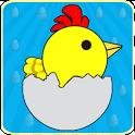 Happy Pretend Chicken Lay Eggs icon