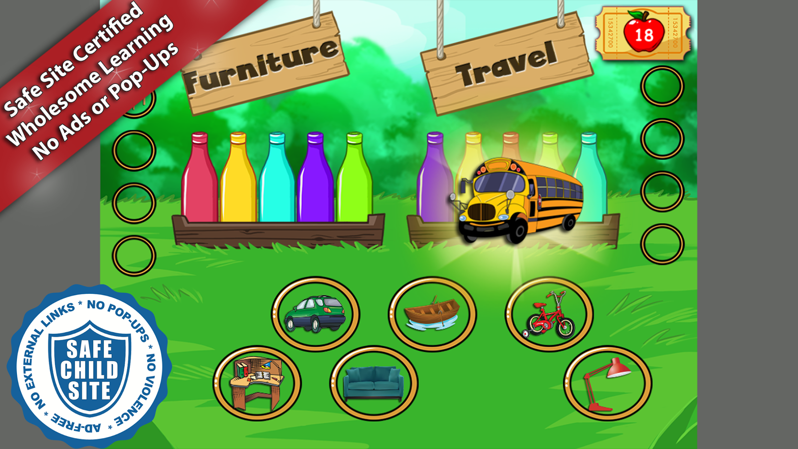 Reading Carnival Fun- screenshot