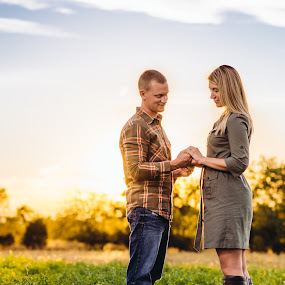 Ring Love by Renee Crabtree - Wedding Old - Engagement ( field, engagement )