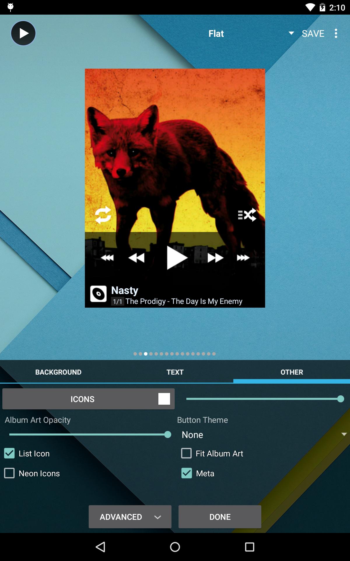 Poweramp Full Version Unlocker screenshot #23