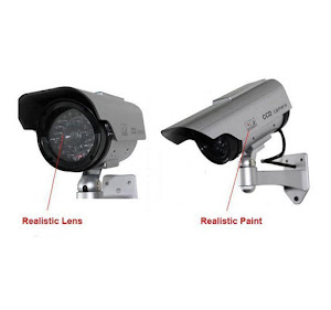 Set 2 camere false de supraveghere cu aspect profesional