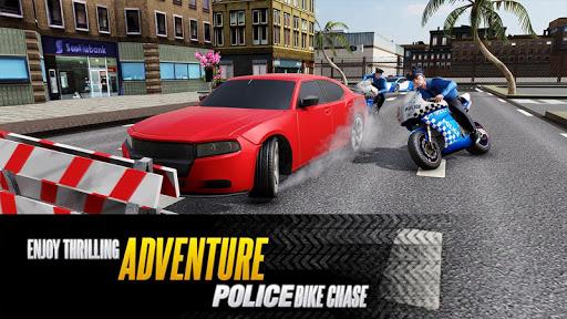 US Police Bike Chase 2020 3.7 screenshots 2