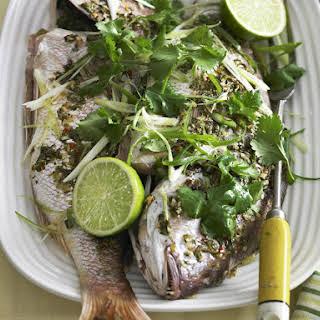 Thai Style Fish.