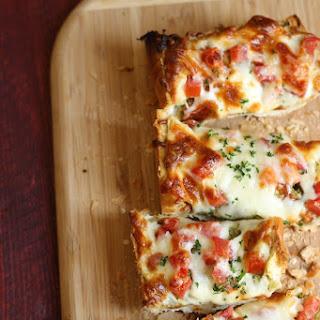 Pesto and Tomato French Bread Pizza