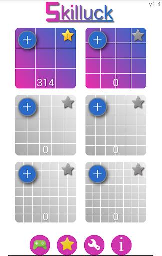 Skilluck number puzzle