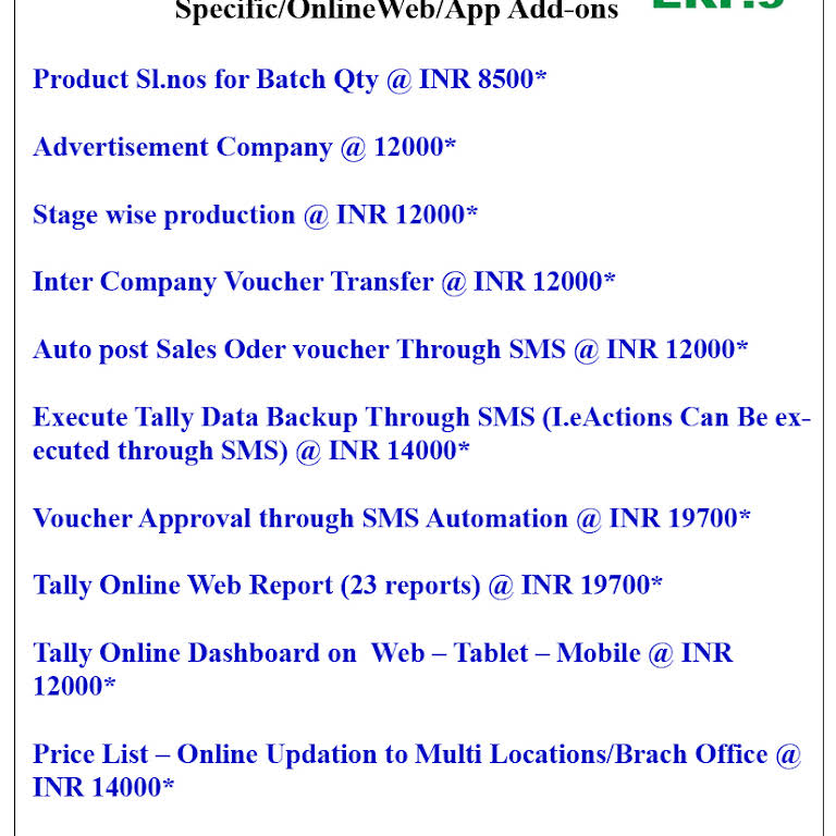 kapupara tally - Software Company in TRICHY