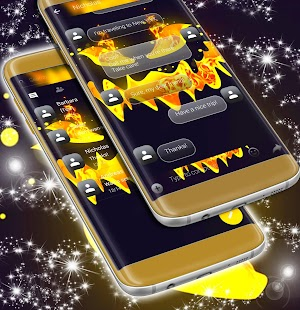 Text Message Backgrounds Halloween - náhled