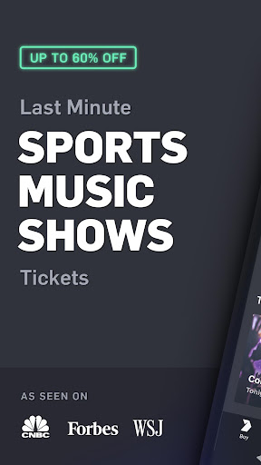 Gametime - Tickets to Sports, Concerts, Theater screenshot 1