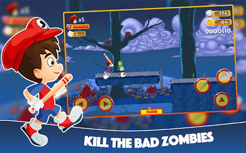 Super Jack vs Zombies Run Adventure - náhled