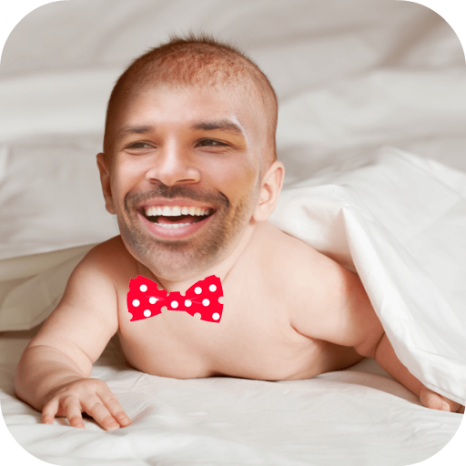 Baby Funny Face Camera Icon