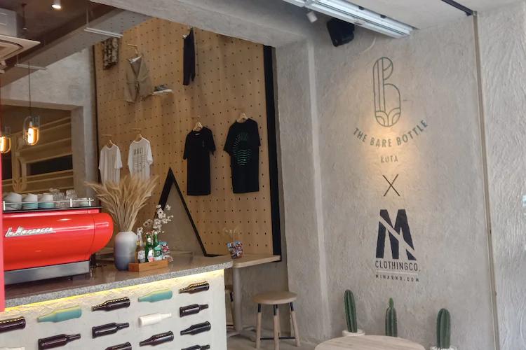 The Bare Bottle Coffee Shop Bali