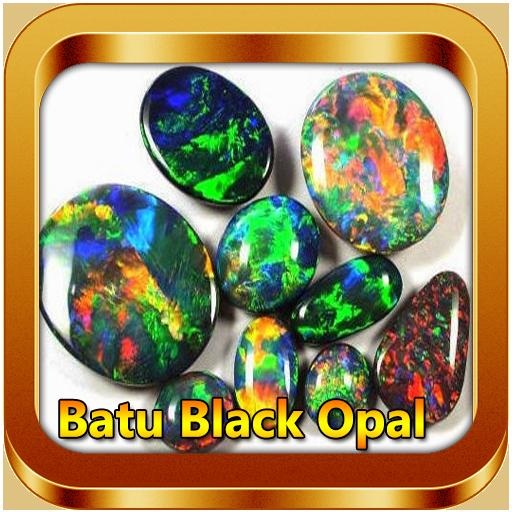 Jenis Batu Cincin Black Opal