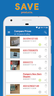 Compare Prices On Amazon & eBay - Barcode Scanner