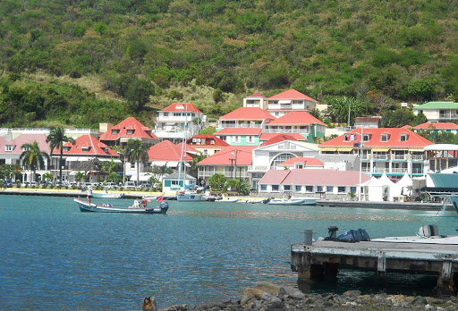 gustavia-homes-on-water-st-barts.jpg - Houses overlooking the harbor in Gustavia, capital of St. Barts, which has 2,300 residents.