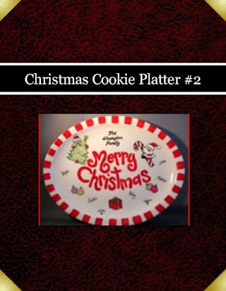 Christmas Cookie Platter #2