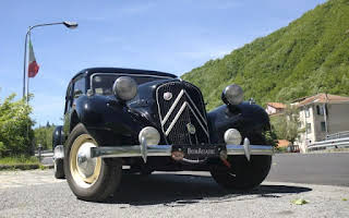 Citroën Traction Avant 11 B Rent Liguria