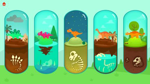 Jurassic Dig - Dinosaur Games for kids apkpoly screenshots 5