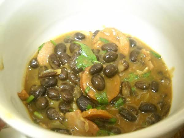 Portuguese Black Bean Stew Recipe