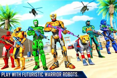 FPS Robot Shooting Strike MOD (Immortality/Dumb Enemy) 5