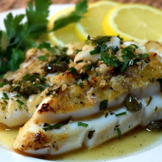 Weeknight Calamari Steaks Piccata Style.