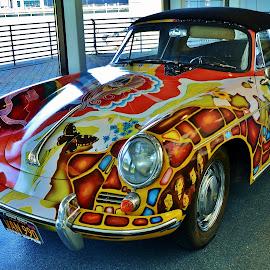 Janis Joplin Porsche by Thomas Barr - Transportation Automobiles (  )