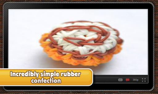 Savory rubber confection