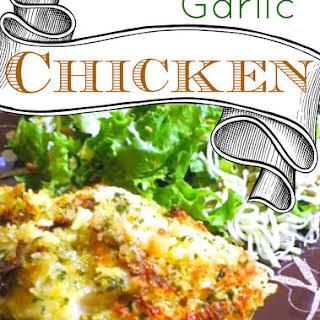 Tasty Garlic Chicken.