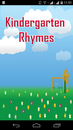 Kindergarten Rhymes