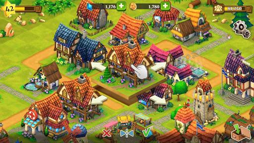 Town Village: ferme, commerce, farm, build, city  captures d'écran 6