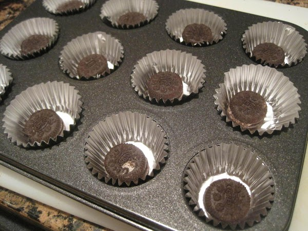 Pre heat oven to 350 degrees. Prepare mini muffin tins with liners and add...