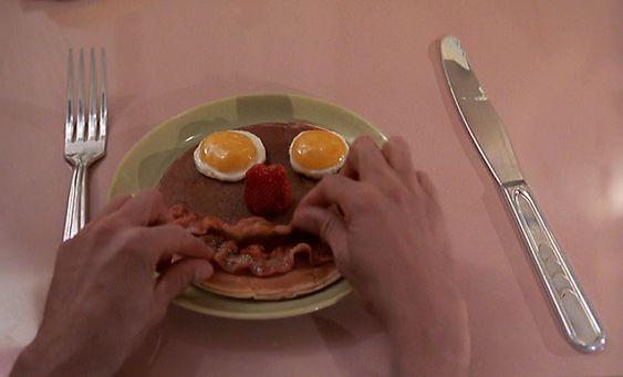 A Brief History of Bacon in Cinema | Pee wee herman, Mr breakfast, Eat