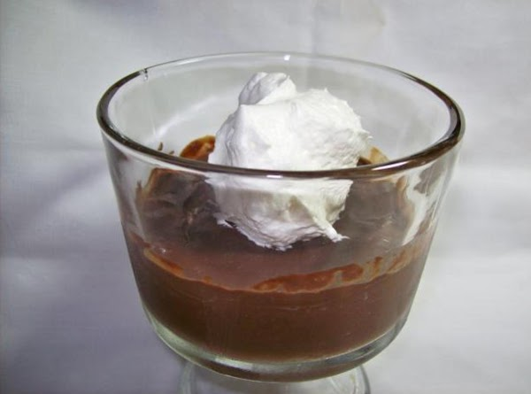 Chocolate Pudding For Recipe 1