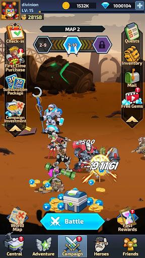 Idle Arena - Clicker Heroes Battle 5007 screenshots 6
