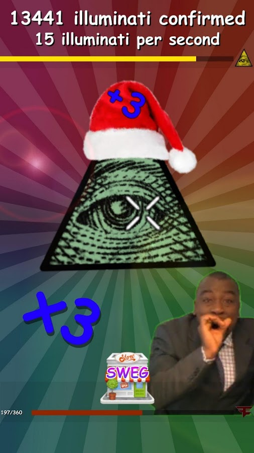 Meme Clicker - MLG Christmas- screenshot