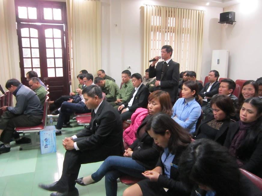 Hội nghị cán bộ công chức, viên chức, người lao động nhằm phát huy quyền làm chủ, đảm bảo tốt hơn quyền lợi của người lao động