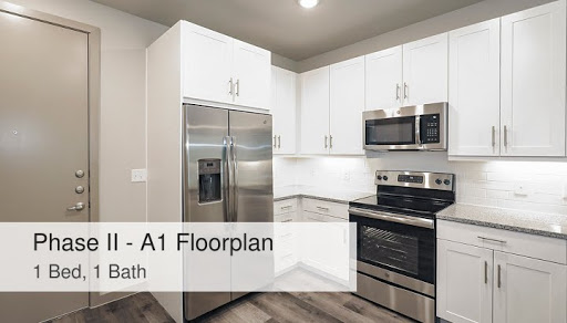 Phase Ii A1 Floorplan 1 Bed 1 Bath Mustang Station