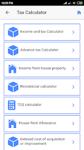 Indian Income Tax Info/Savings/Calculators App Download For Android 7