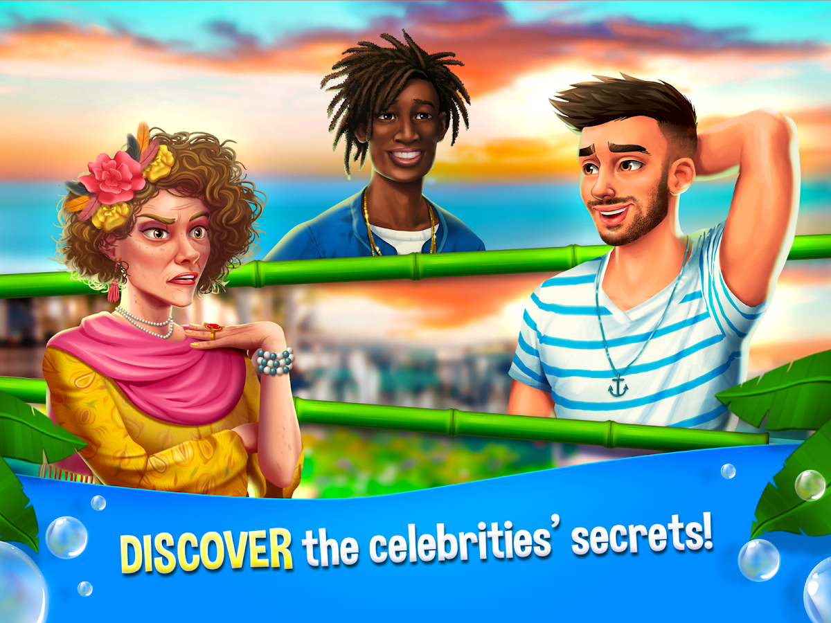 Starside Match-3 Puzzle Celebrity Resort- screenshot