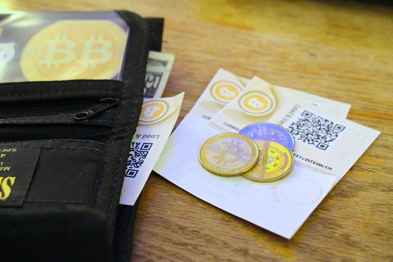 monedero papel bitcoin