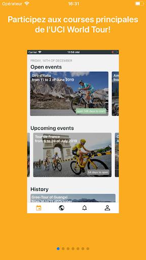 Cycling Fantasy - UCI World Tour  captures d'écran 1