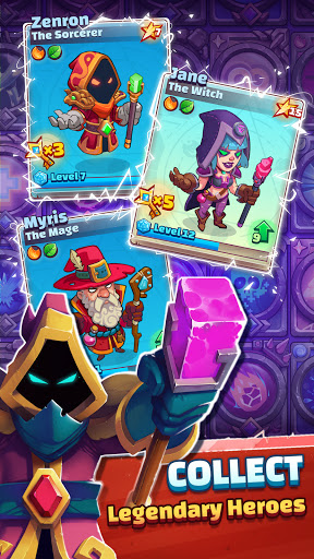 Super Spell Heroes - Magic Mobile Strategy RPG apktram screenshots 2