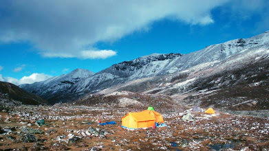 Photo: Kharta Valley, campsite below Sho-U pass