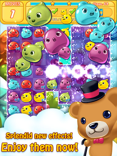 Jelly Jelly Crush - In the sky screenshots 10