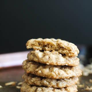 Chai Spiced Oatmeal Cookies (V&GF).