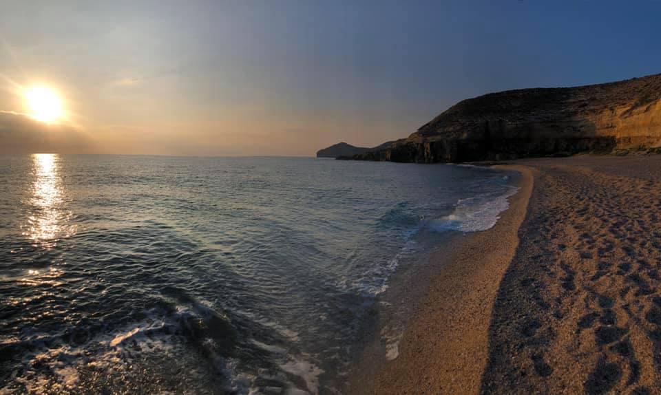 Carboneras, playa del municipio del Levante de Almería.