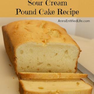 Sour Cream Pound Cake Without Baking Soda Recipes.