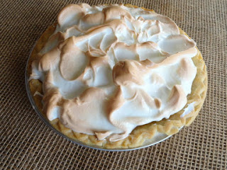 Coffee Meringue Cream Pie Recipe
