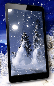 Winter Night Live Wallpaper screenshot 4